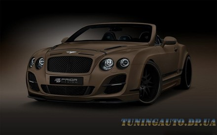 Тюнинг Bentley Continental GT Cabriolet